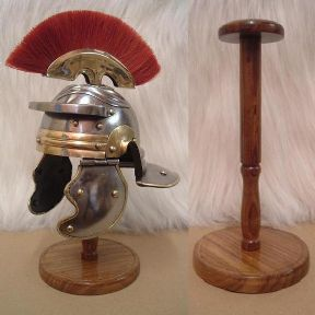 Mini Roman Legionnaires Helmet and Stand